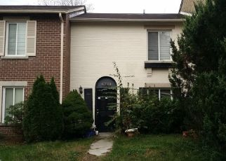 Foreclosed Home in Montgomery Village 20886 THOMAS FARM RD - Property ID: 4460895387