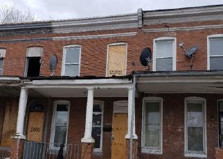 Foreclosed Home in Baltimore 21218 ROBB ST - Property ID: 4461664476