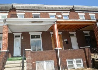 Foreclosed Home in Baltimore 21218 BONAPARTE AVE - Property ID: 4463395794