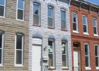 Foreclosed Home in Baltimore 21223 SARGEANT ST - Property ID: 4470862362