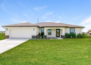 Foreclosed Home in Cape Coral 33993 NW 24TH TER - Property ID: 4485035650