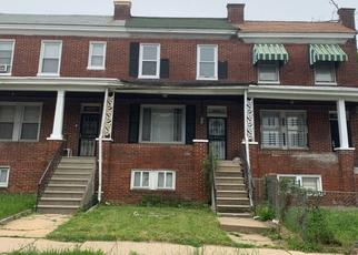 Foreclosed Home in Baltimore 21218 WILSBY AVE - Property ID: 4485439458