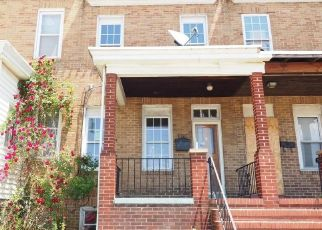Foreclosed Home in Baltimore 21223 BRUNSWICK ST - Property ID: 4487811528