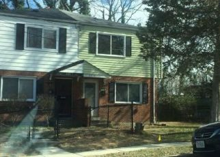 Foreclosed Home in Suitland 20746 LAKEWOOD ST - Property ID: 4490805515