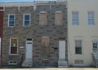 Foreclosed Home in Baltimore 21223 JAMES ST - Property ID: 4495556659