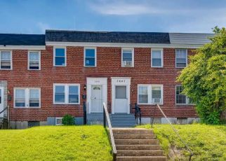 Foreclosed Home in Baltimore 21213 DUDLEY AVE - Property ID: 4496007324
