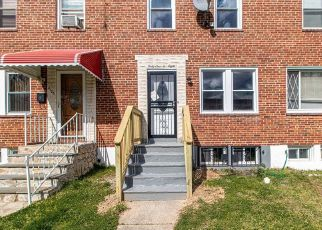 Foreclosed Home in Baltimore 21213 RAYMONN AVE - Property ID: 4502841479