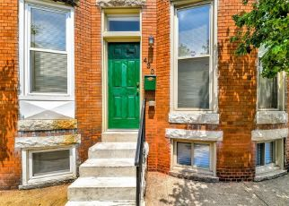 Foreclosed Home in Baltimore 21218 E LORRAINE AVE - Property ID: 4503996412