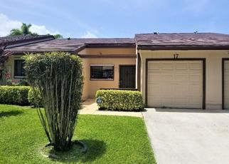 Foreclosed Home in Boynton Beach 33426 MAYFAIR LN - Property ID: 4504469425
