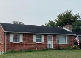 Foreclosed Home in Hagerstown 21742 N COLONIAL DR - Property ID: 4506952294