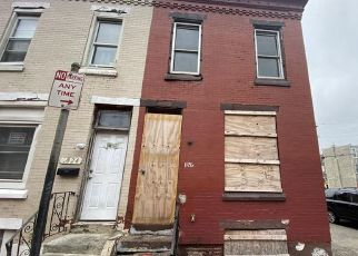Foreclosed Home in Philadelphia 19132 W RUSH ST - Property ID: 4508707707