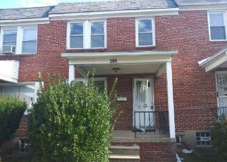 Foreclosed Home in Baltimore 21229 DENISON ST - Property ID: 4508828584