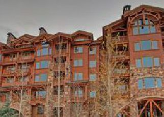 Foreclosed Home in Park City 84060 MARSAC AVE - Property ID: 4510722375