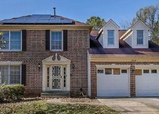 Foreclosed Home in Bowie 20721 GOLDEN HILL DR - Property ID: 4520881179