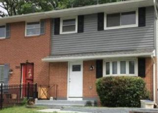 Foreclosed Home in Capitol Heights 20743 G ST - Property ID: 4527361457