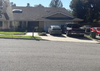 Pre Foreclosure in Oak Park 91377 SMOKE TREE AVE - Property ID: 1002221308