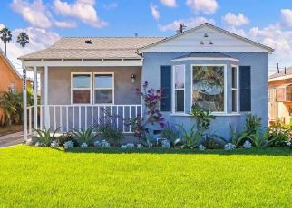Pre Foreclosure in Los Angeles 90047 S ST ANDREWS PL - Property ID: 1007193188
