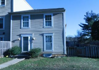 Pre Foreclosure in Gaithersburg 20879 LABELLE CT - Property ID: 1011713973