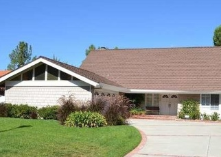Pre Foreclosure in Tarzana 91356 COLDSTREAM TER - Property ID: 1038036192
