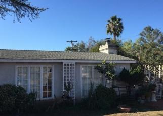 Pre Foreclosure in Escondido 92026 W EL NORTE PKWY - Property ID: 1041526413