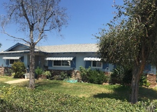 Pre Foreclosure in San Dimas 91773 S VALLEY CENTER AVE - Property ID: 1046114187