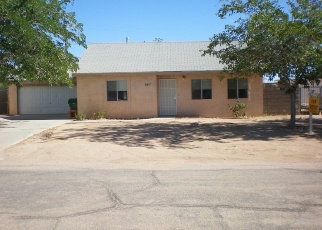 Pre Foreclosure in California City 93505 FIR AVE - Property ID: 1050356407