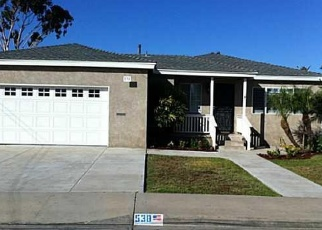 Pre Foreclosure in Chula Vista 91910 FIG AVE - Property ID: 1052875635