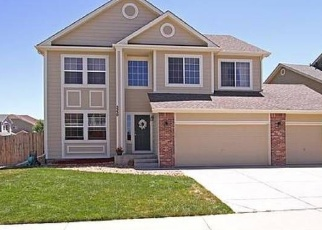 Pre Foreclosure in Castle Rock 80104 LOST MEADOW TRL - Property ID: 1053674501
