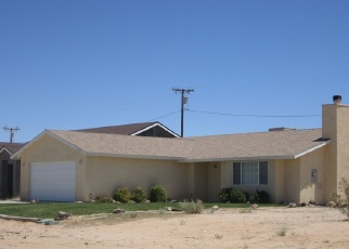 Pre Foreclosure in California City 93505 SUSAN AVE - Property ID: 1056141609