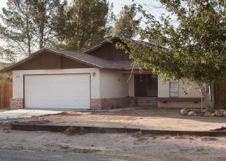 Pre Foreclosure in California City 93505 REDWOOD BLVD - Property ID: 1057422689