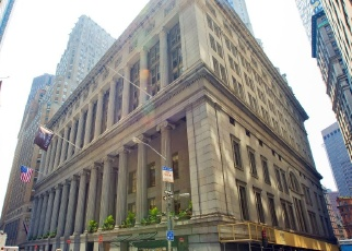 Pre Foreclosure in New York 10005 WALL ST - Property ID: 1057743721