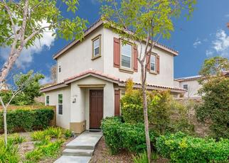 Pre Foreclosure in Chula Vista 91913 WOLF CANYON LOOP - Property ID: 1059664226