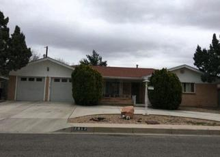 Pre Foreclosure in Albuquerque 87110 CHAMA ST NE - Property ID: 1060155193