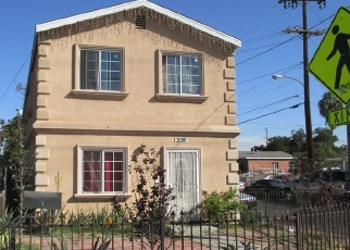Pre Foreclosure in Los Angeles 90001 NADEAU ST - Property ID: 1062856175