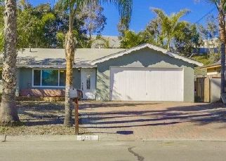 Pre Foreclosure in Vista 92083 WAXWING DR - Property ID: 1065325482