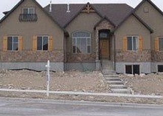 Pre Foreclosure in Saratoga Springs 84045 S WESTERN DR - Property ID: 1067614780