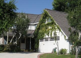 Pre Foreclosure in Woodland Hills 91367 RAMARA AVE - Property ID: 1068027794