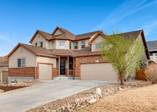 Pre Foreclosure in Castle Rock 80108 PAINT PONY CIR - Property ID: 1075367347