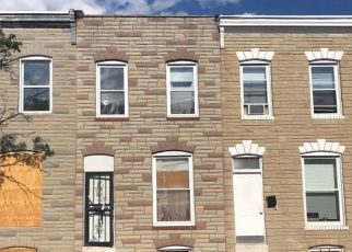 Pre Foreclosure in Baltimore 21205 N PORT ST - Property ID: 1077346110