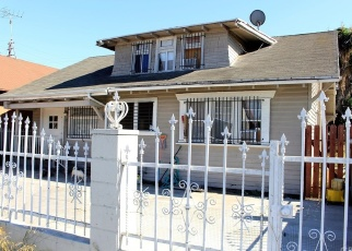 Pre Foreclosure in Los Angeles 90003 W GAGE AVE - Property ID: 1077482323