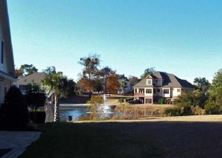 Pre Foreclosure in North Myrtle Beach 29582 OCEAN POINTE CT - Property ID: 1078607933