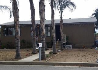Pre Foreclosure in Wildomar 92595 DEAN LN - Property ID: 1081358395