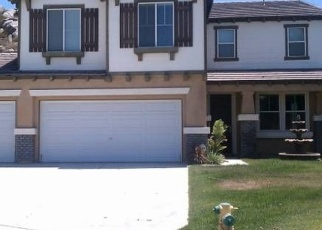 Pre Foreclosure in Menifee 92584 ROCK CANYON RD - Property ID: 1082355670