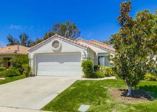 Pre Foreclosure in Murrieta 92562 VIA FRANCISCO - Property ID: 1082792321