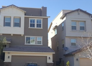 Pre Foreclosure in Henderson 89011 GRACIOUS WAY - Property ID: 1083320522