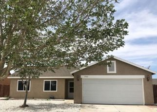 Pre Foreclosure in Adelanto 92301 TAHOE CT - Property ID: 1084314731