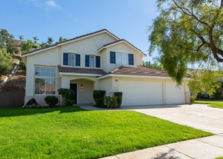 Pre Foreclosure in Corona 92879 MANDEVILLA WAY - Property ID: 1085021166