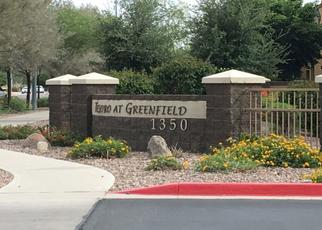Pre Foreclosure in Mesa 85206 S GREENFIELD RD - Property ID: 1089010229