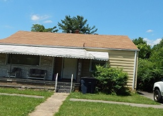 Pre Foreclosure in Roanoke 24012 THURMAN AVE NW - Property ID: 1090298768