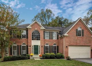 Pre Foreclosure in Severna Park 21146 DILL POINTE DR - Property ID: 1099157665